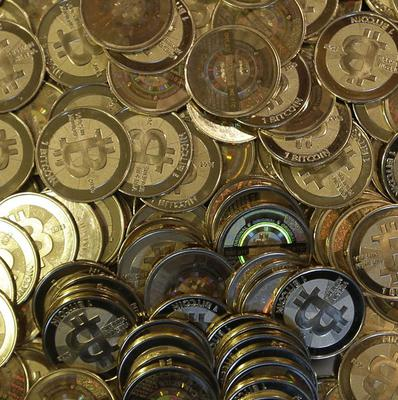 The website of major bitcoin exchange Mt Gox is offline amid claims that it has collapsed (AP)
