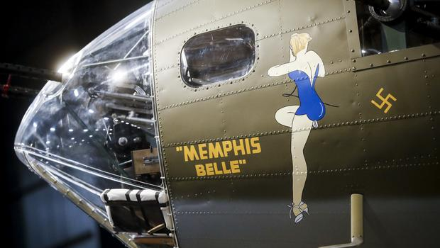 The Memphis Belle at the National Museum of the US Air Force (John Minchillo/AP)