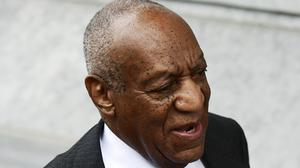 Bill Cosby arrives for jury selection (Corey Perrine/AP)