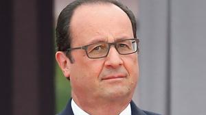 French president Francois Hollande said the republic 'admits its responsibility is large'