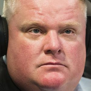 Toronto mayor Rob Ford did not address allegations of drug use and said he will continue to lead Canada's largest city despite pressure to resign (AP/The Canadian Press, Mark Blinch)