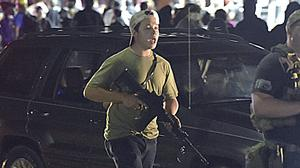 Kyle Rittenhouse was armed on the streets in Kenosha, Wisconsin (Adam Rogan/The Journal Times via AP)