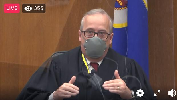Hennepin County Judge Peter Cahill (Court TV/Pool via AP)