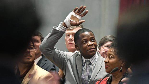 James Shaw Jr has set up a fund for the victims of the Waffle House shooting (Larry McCormack/The Tennessean via AP)