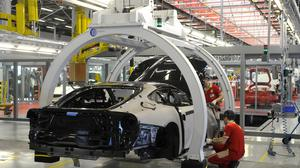The eurozone's third-largest economy is slowing down industrial production (AP/Marco Vasini, File)
