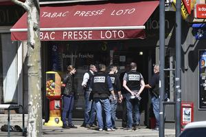 The town is in lockdown along with the rest of France (AP)