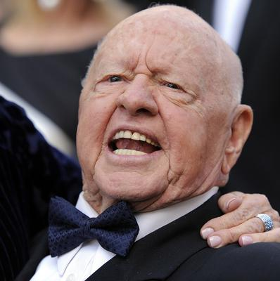 Mickey Rooney has left most of his estate to the stepson who cared for him in his last years (AP)
