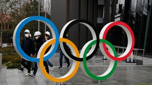 """In sharp contrast to the rest of the shutdown sporting world, the International Olympic Committee remain """"fully committed"""" to delivering the Tokyo Games this summer and have pledged support to athletes whose qualification chances have been left uncertain by the postponement or cancellation of competitions due to the coronavirus. (Jae C. Hong/AP)"""
