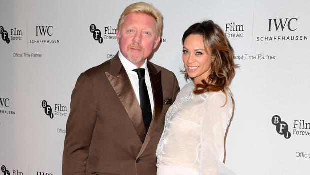 Boris Becker and wife Lilly (Ian West/PA)