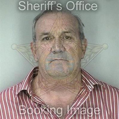 The Pinellas County Sheriff's Office booking photo of conman Paul Gunter