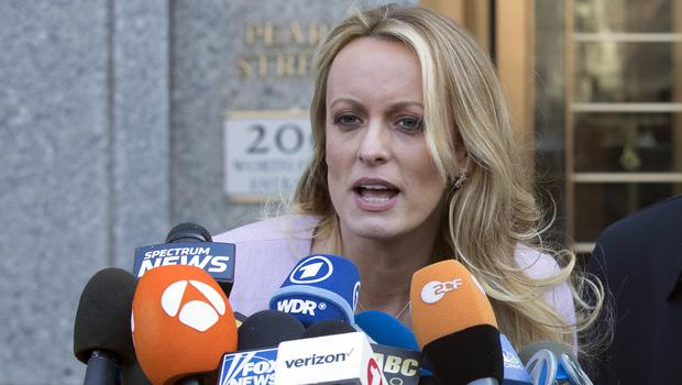 Adult film actress Stormy Daniels (Mary Altaffer/AP)