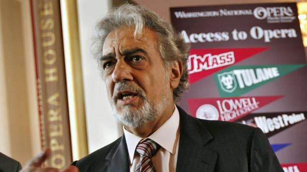 Placido Domingo apologised to the women affected (Jacquelyn Martin/AP)