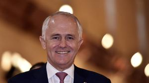 Malcolm Turnbull said it was a battle of will between the Australian government and criminal gangs of people smugglers