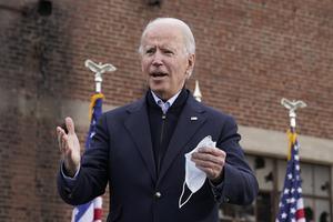 Joe Biden was confirmed on Monday as President-elect by the Electoral College (Patrick Semansky/AP)