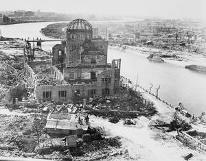 Hiroshima following the dropping of the atomic bomb (Crown copyright/PA)