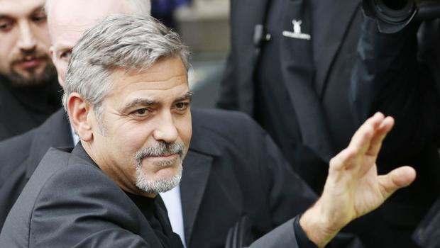 George Clooney hosted two weekend fundraisers in California on behalf of Democratic presidential candidate Hillary Clinton