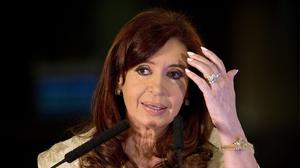 President Cristina Fernandez accused the judge of being contemptuous of Argentina's sovereignty