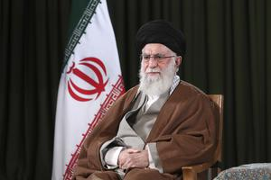 Iranian President Hassan Rouhani (Office of the Iranian Supreme Leader via AP)