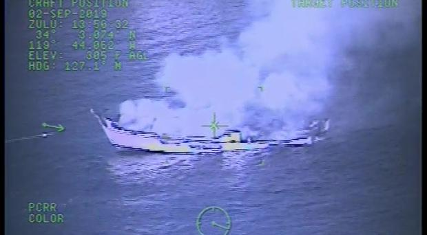 The search for survivors of the boat tragedy has been called off (U.S. Coast Guard via AP)