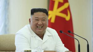 North Korean leader Kim Jong Un. His country has vowed to cut off communications with South Korea over political leaflets sent across the two countries' border (Korean Central News Agency/Korea News Service/AP)