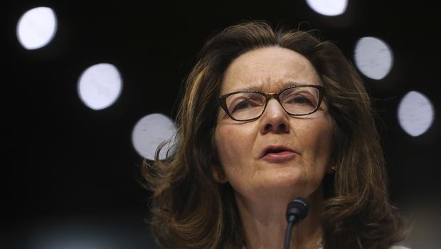 Gina Haspel testifies during a confirmation hearing of the Senate Intelligence Committee (AP Photo/Pablo Martinez Monsivais)