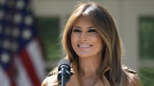 Mrs Trump was last seen in public in the early hours of May 10 (Susan Walsh/AP)