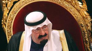 King Abdullah of Saudi Arabia has warned that terrorist groups will attack Europe and the United States