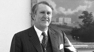 Malcolm Fraser pictured at the White House in 1980 - he has died aged 84 (AP)