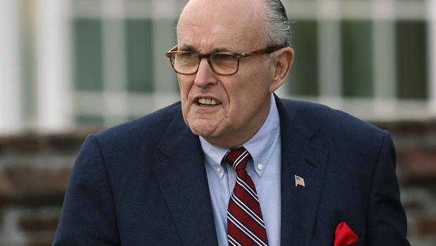 Rudy Giuliani has recently been appointed as Donald Trump's new lawyer (Carolyn Kaster/AP)