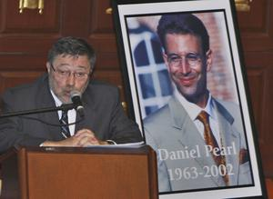 Dr Judea Pearl, the father of American journalist Daniel Pearl, who was killed by terrorists in 2002 (Wilfredo Lee/AP)