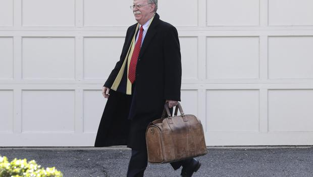 Former national security adviser John Bolton wrote in a manuscript that President Trump wanted to withhold military aid from Ukraine until it committed to helping with investigations into Democratic rival Joe Biden (Luis M. Alvarez/AP)