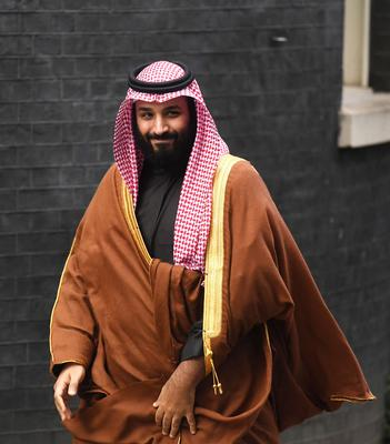 Crown Prince Mohammed bin Salman (Victoria Jones/PA)