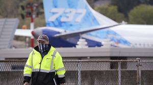 Boeing has said the road to recovery after coronavirus will be long (Elaine Thompson/AP)