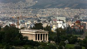 General view of The Acropolis in Athens (Nick Potts/PA)