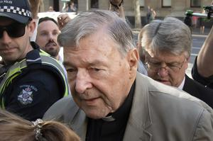 Cardinal Pell had been a senior aide to Pope Francis (Andy Brownbill/AP)