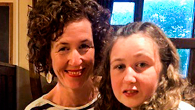 Nora Quorin with her mother Meabh