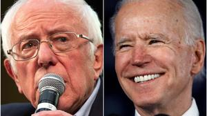 Bernie Sanders and Joe Biden (AP)