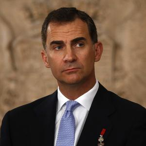 Crown Prince Felipe has ascended to the Spanish throne (AP)