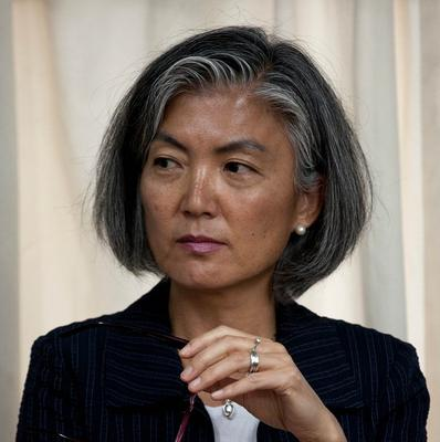 Assistant UN secretary general Kyung-Wha Kang visited eastern Congo last week (AP/Eduardo Verdugo)