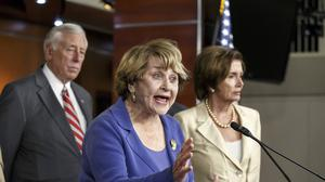 Republicans in the House of Representatives have voted to file a lawsuit against president Obama (AP)