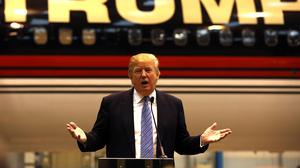 Donald Trump is considering running for president