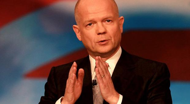 William Hague sidestepped calls to guarantee that UK troops would not be sucked into the Mali conflict