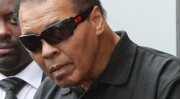 Muhammad Ali's daughter said rumours the heavyweight boxing legend was close to death were untrue