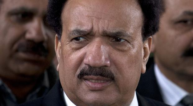 Pakistani interior minister Rehman Malik has paved the way for talks with the Taliban (AP)