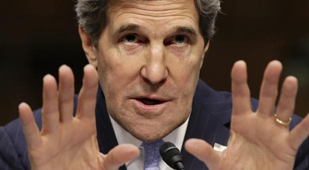 John Kerry and his South Korean counterpart have discussed how to respond if North Korea carries out a nuclear test (AP)