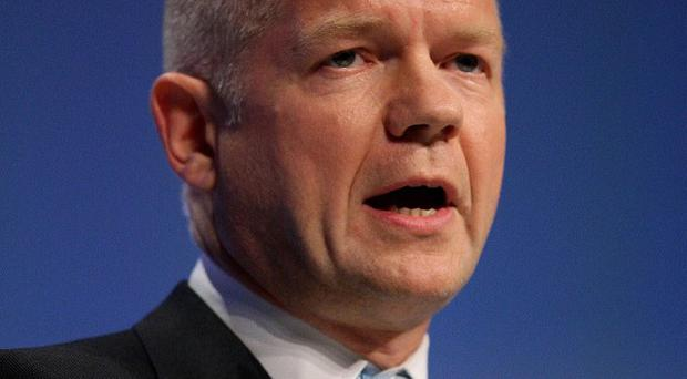 Foreign Secretary William Hague defended plans to hold a referendum on Britain's participation in the EU