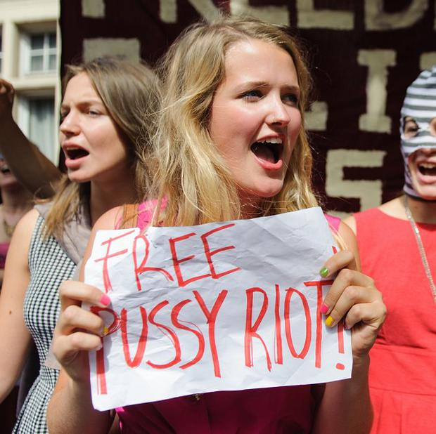 The incarceration of members of Pussy Riot last year sparked protests across the world