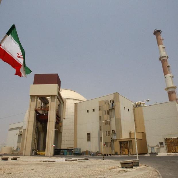 The Bushehr nuclear power plant in southern Iran. The country's supreme leader has rejected proposals for talks with the US over its nuclear programme (AP)