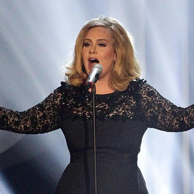 Adele's appearance at the Grammy Awards was hit by a gatecrasher