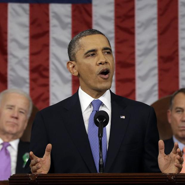 President Barack Obama delivers his annual State of the Union address (AP)